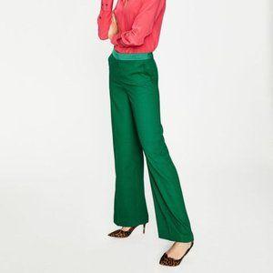 Boden Marlin Wide-Leg Pants - Sap Green - 8L
